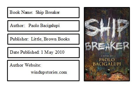 Ship Breaker Bookplate