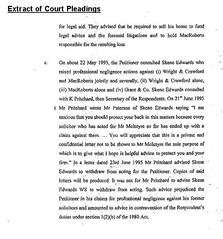 Extract of negligence case