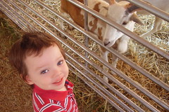 092107-01 Ryan and Goat