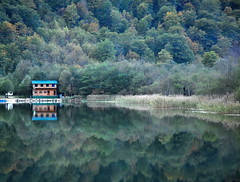 Autumn in Bosnia (-- blue in green --) Tags: autumn lake fall nature forest bosnia bih bosna blueribbonwinner boracko konjic supershot bej anawesomeshot scenicsnotjustlandscapes reflectyourworld gotobosnia