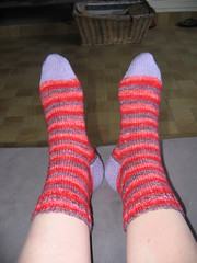 Koolaid striped socks