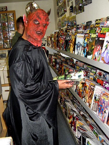 Dave In Comic Store