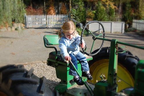 Hardworkin' Tractor Driver