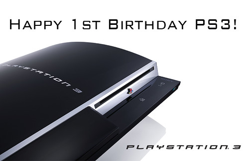 PS3 bday