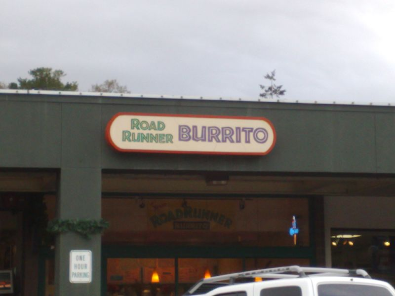 Road Runner Burrito
