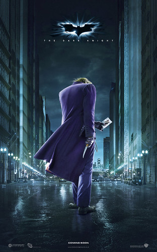 Poster Batman Joker The dark knight