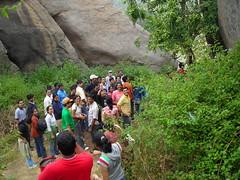 Trek (aanjhan) Tags: trekking bangalore rappelling rbin ramnagar chimneyclimbing