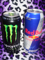 MOSTER VS. RED BULL by TRUE NECROMANCE