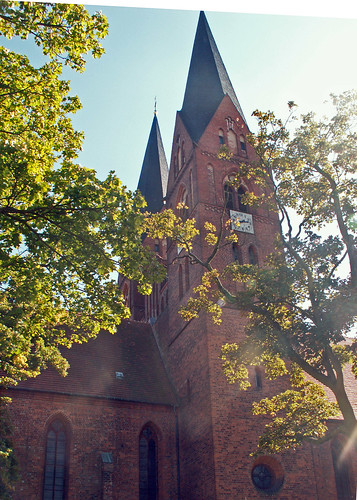 blick über klosterkirche neuruppin