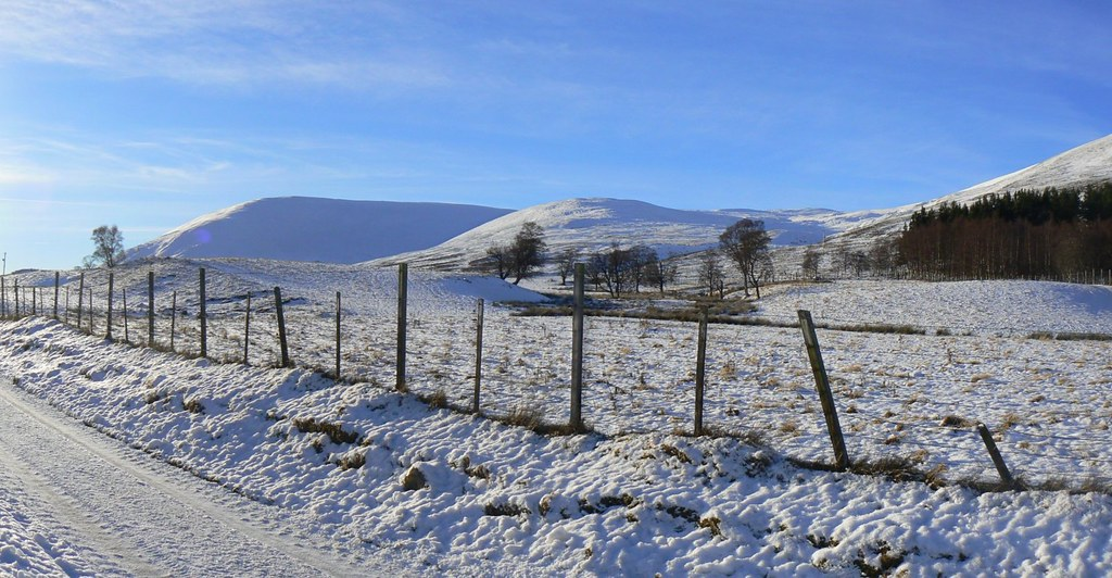 Winter scene, Cairngorms