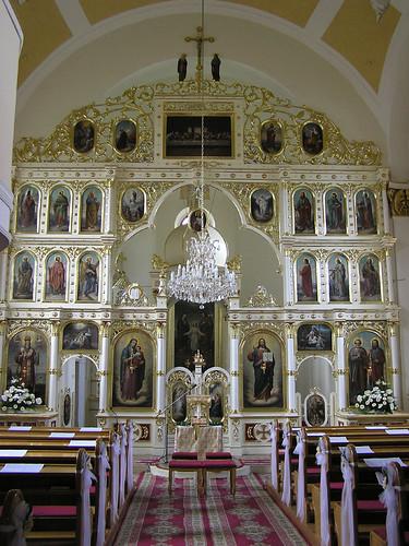 Byzantine catholic church in bardejov gréckokatolícky chrám v