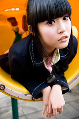 Akina (swanky) Tags: portrait people woman cute girl beautiful beauty canon asian eos md model women pretty taiwan babe belle taipei   tamron 2008 taiwanese   30d    shihlin  akina a16    photoimage 1750mm  nationaltaiwanscienceeducationcenter  tamronspaf1750mmf28xrdiiildasphericalifmodela16  ntsec asiandreamaward emiruemirue  mtv mtv ak
