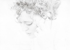 lafra (Emanuele Schivo) Tags: light white film darkroom 35mm vintage blackwhite nikon milano francesca ricci fading f80 bianco poli fra politecnico nikonf80 cameraoscura natta