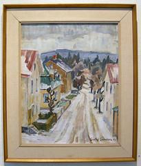 Gustaf Svensson - Vy över Mogärde