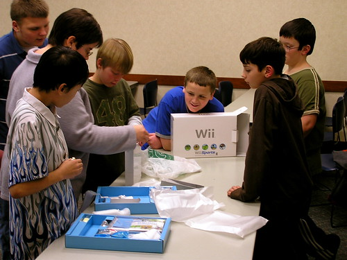 Opening the Wii