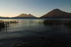 Volcanoes over Atitlan