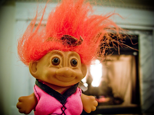 Troll with Bra by abbyladybug, on Flickr