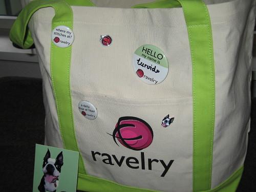 Ravelry bag