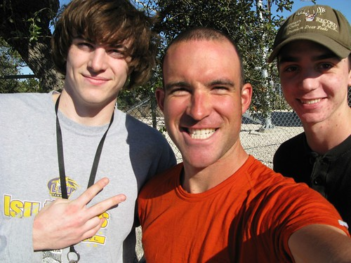 With Taylor and Jacob on Ranch Road 2325, Texas, USA