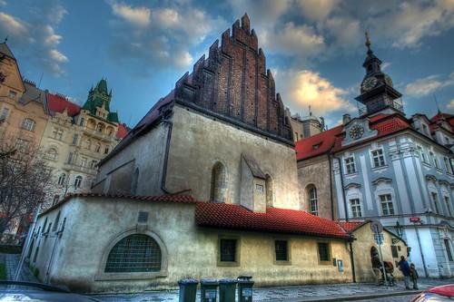 Old-New Synagogue Prague HDR