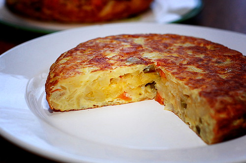 Tortilla – Spanisches Omelett