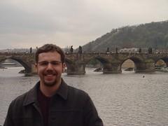 Josh by Charles Bridge (jmklun) Tags: prague charlesbridge