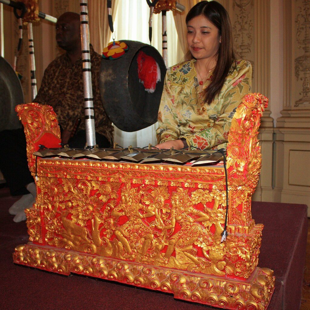 Indonesian Embassy Musical Instrument