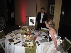 Claire and Lloyd's Wedding Table