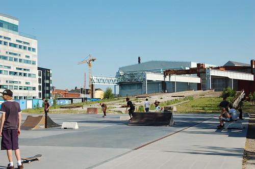 Skateboard park in Malmö