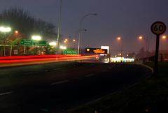 Santiago (erlucho) Tags: chile santiago night speed d50 noche timelapse nikon dusk velocidad