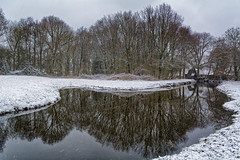 Snow And A Mirror