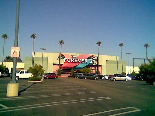 Forever 21 (Formerly Mervyn's Anaheim Plaza) Anaheim, California