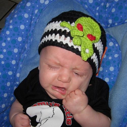 bebé gorra de Cthulhu