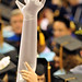 College of Veterinary Medicine graduate gives a