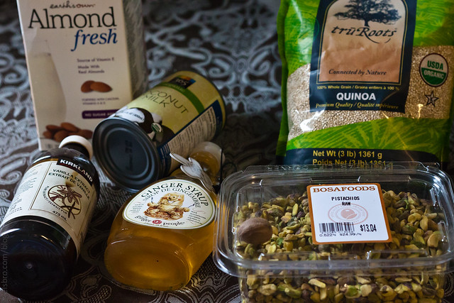 Quinoa Pudding Ingredients