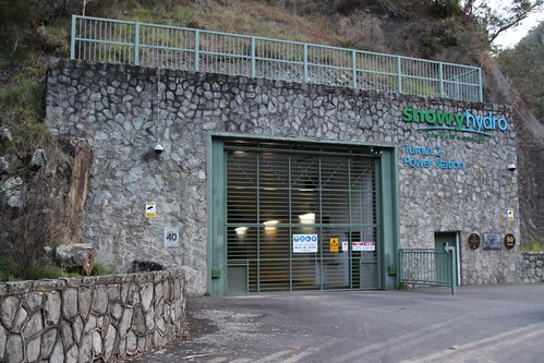 Entry to the Tumut 2 underground hydroelectric power station