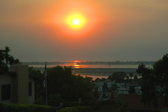 2007Fires_Sunset