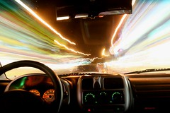 Time Travel (HW.Wang) Tags: light car night driving taiwan aplusphoto