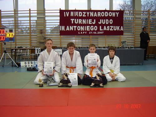 Pirmas iš kairės A.Tipšas, D.Tumas, R.Bogužas,T.Baltušis