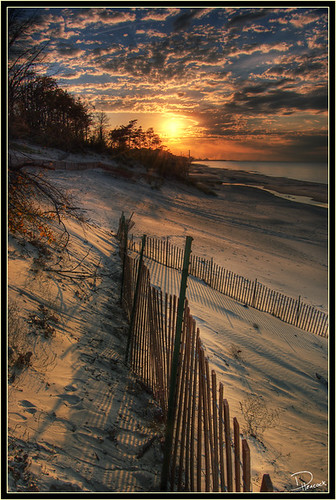 A Natural Dune Sunset - by Dan.Heacock