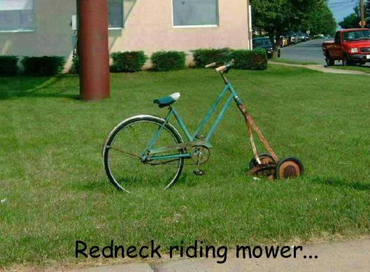 Redneck Riding Mower