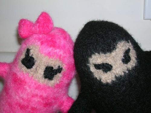 Black and Pink Ninja