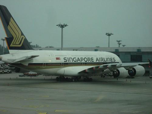 A380 @ Changi