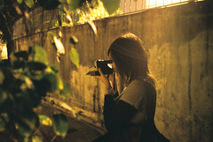 () Tags: street light portrait hk film night nikon hong kong explore agfa 35ti qenie
