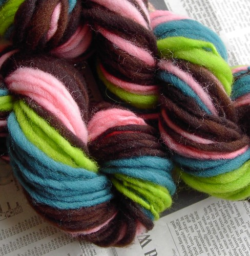 stripey yarn