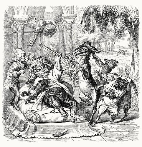Wilhelm von Kaulbach - Reineke Fuchs, 1857 (Goethe) p39 (coconino)