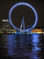 London Eye and Reflection