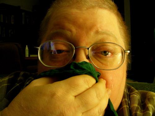 Skankthrax, stage 4: Sneezing & streaming eyes (075/365)