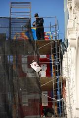Castro Theatre Repainting