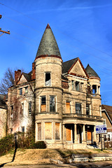 Ouerbacker Mansion (SnakeTongue) Tags: holland abandoned office kentucky ky service louisville tax mansion ouerbacker